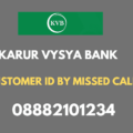 kvb customer id by missed call