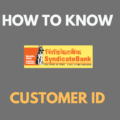 know Syndicate Bank Customer ID