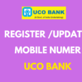 Register or Update Mobile number in UCO Bank